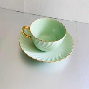Minton England cup and saucer Mint retro vintage